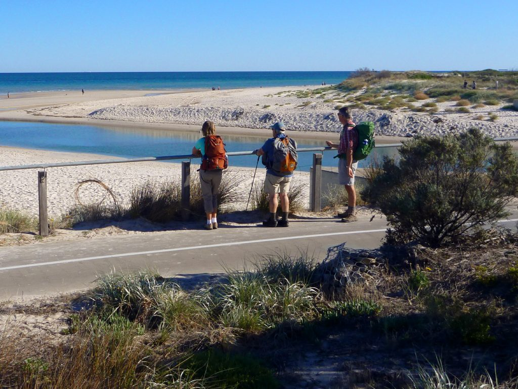 The Adelaide100 trail circumnavigates our city with a diversity of terrain. The coast section follows Adelaide's beautiful beaches.